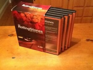 The Rolling Stones 5 DVDs Just for the record