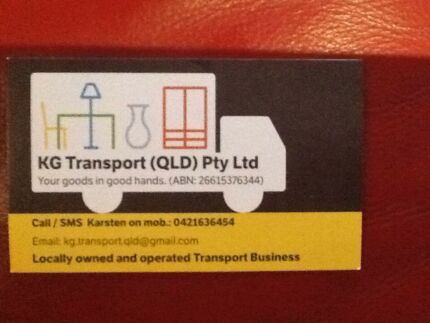 Do you need transport for large item or a removal?