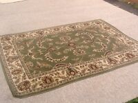 Green patterned Legacy Rug £25