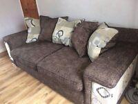 3 Seater Sofa & Chair £150