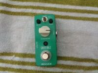 Behringer pre amp booster, Moore green mile overdrive £20 each