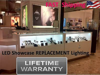 Led Museum Quality Showcase Display Case Lighting 600 Lights Total No Heat