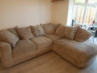 Luxury 5/6 seater corner sofa - AMAZINGLY COMFY, ONLY 1 YEAR OLD