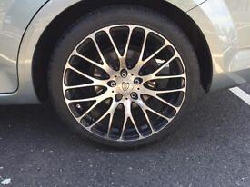 Vermilion executive alloy wheels