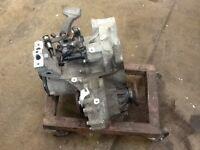 VOLKSWAGEN GOLF 105 BHP 4 CYLINDER BKC 5 SPEED MANUAL GQQ GEARBOX