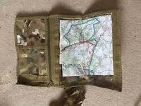 Waterproof map case military
