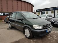 **CHEAP DIESEL 7 SEATER** VAUXHALL ZAFIRA CLUB 2.0 DTI (2004) - 7 SEATER - NEW MOT - HPI CLEAR!