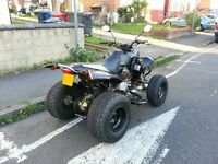 **BARGAIN** 2007 57 Reg 250cc QuadZilla Road Legal Quad Bike..raptor,honda,yamaha,r1,ducati.