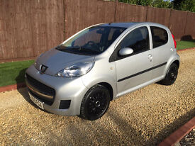2009 PEUGEOT 107 URBAN 5 DOOR **STUNNING CONDITION**