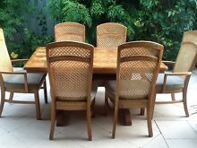 Dining table and six chairs in excellent condition. Cottesloe Cottesloe Area Preview