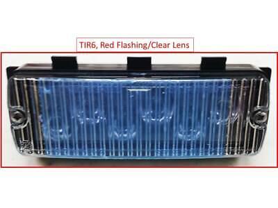 4 WHELEN LFL LIBERTY LIGHT BAR LIN6c CLEAR SUPER LED MODULES 500 SERIES