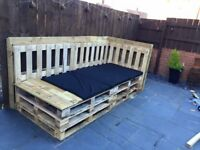 Pallet sofas made to fit