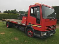 RECOVERY IVECO EUROCARGO TILT and SLIDE with SPEC LIFT