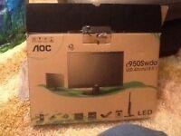 "Brand new 18.5"" aoc computer monitor"
