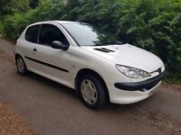 2003 PEUGEOT 206 1.4 HDI AMAZING ON FUEL IDEAL CHEAP RUNNER ONLY £30 A YEAR TAX NEW MOT