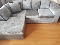 GRAND OFFER UPTO 40% OFF ON DYLAN CRUSH CORNER SOFA IS AVAILABLE IN NEW STOCK
