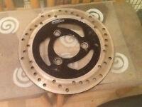 Kymco Super 9 LC 50cc Front Brake Disc V.G.C
