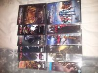 Red vs Blue dvd's and halo dvd's