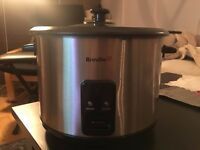 Breville ITP181 1.8L Rice Cooker and Steamer - Stainless Steel (steamer tray not included)