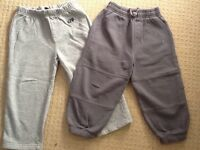 2 x joggers in grey, 2-3 yrs, immaculate condition