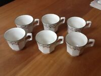 Tea cups. Eternal Beau x6