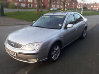 55 plate mondeo ghia tdci 155bhp 136000 miles £650 NO OFFERS