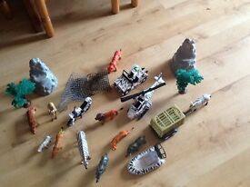 Plastic safari set