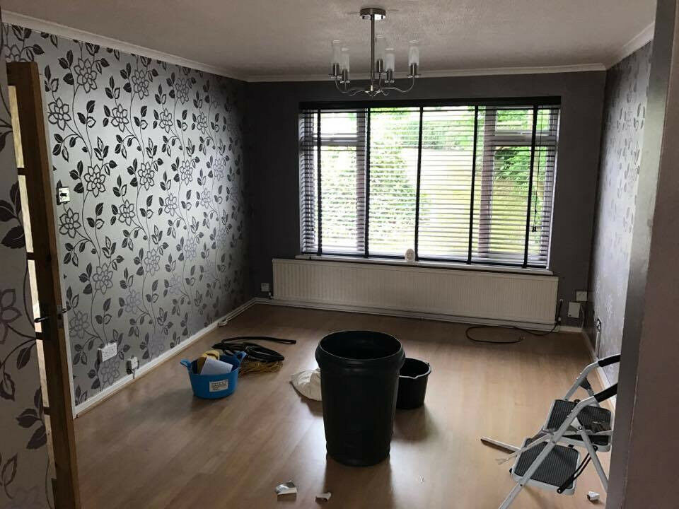 4x Faux Wood Venetian Blinds Dark Brown 50 In South Croydon