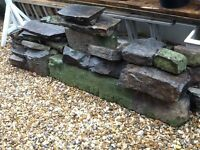 FREE... FREE....Reclaimed natural stone