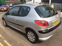 1.4 petrol, peugeot, 2004 reg, year mot on it, drive perfect, cheap road tax and insurance,