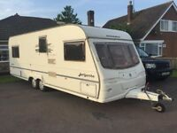 avondale argente 02 year twin axle 7 berth ,seling spares or repairs