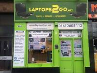 LAPTOPS2GO - LAPTOP PC TABLET SMARTPHONE repairs -Honest Professional Service since 2009