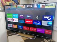 """55"""" Sony BRAVIA 4K Ultra HD HDR 3D Smart LED Android TV KD55X8509C"""