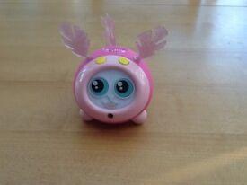 Pink fijit toy