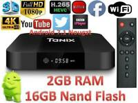 Tanix TX3 Mini TV Box Quad-core Support 4K H.265 16GB ROM WiFi ANDROID MAG SMART TV