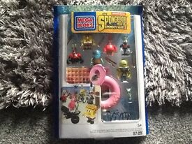 Job lot spongebob out of water action figure sets