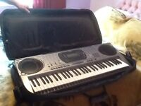 Casio CTK-671 Electric Keyboard with accessories