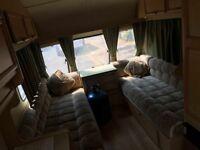 Swift silhouette 2 berth caravan