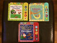 Usborne Baby's very first noisy books