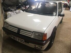Peugeot 205 GTI Butler-Henderson Maintained