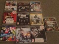 PlayStation 3 games- 10 games