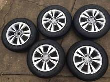 Honda Accord 16 inch Alloy Wheels x5 Dural Hornsby Area Preview