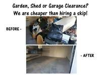 Rubbish removal, Waste Clearance, Garden Clearance, House clearance