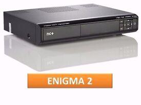 nbox 5800SX BSLA LINUX ENIGMA2 TWIN TUNER 250GB HDD RECORDER OPENPLI 8.6.0