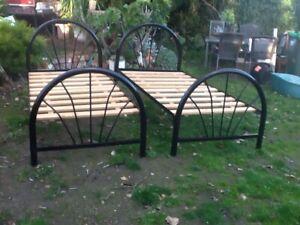 Two single beds. Mount Pleasant Ballarat City Preview