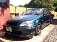 Road legal track car, Honda Civic VTI (b16) track/road car