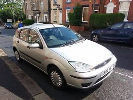ford focus 02 plate tested till june2017 swap for golf 1.4 or 1.6