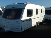2006 coachman laser 590/4 berth end changing room with fitted mover twin axel