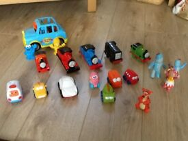 Thomas engines , Furchester Hotel car and others as shown