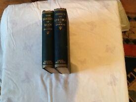 Charles Darwin books for sale..the decent of man/origin of species